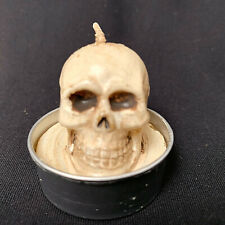 Fitz And Floyd Halloween Skull Candles Package Of 6