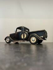 1.18 1936 Ford Pick Up Truck Diecast Model Slammed Modified Rat Rod Hot Road