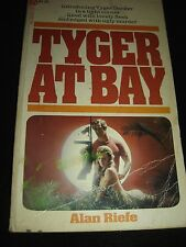 TYGER AT BAY by Alan Riefe POPULAR LIBRARY Paperback 1976