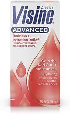 Visine ADVANCED Redness Reliever Eye Drops .5 Fl. Oz  (15mL)