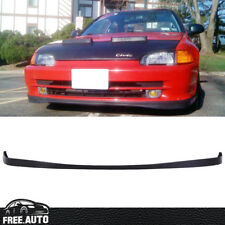 FIT FOR 1992-1995 HONDA CIVIC SEDAN SIR STYLE FRONT BUMPER LIP URETHANE 4DR PU
