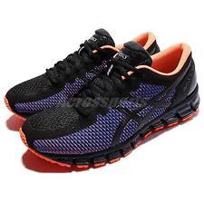 Asics Gel-Quantum 360 CM Chameleon Black Blue Orange Men Running Shoe T6G1N-9099