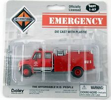 1:87 Scale Brush Fire Truck - State Division of Forestry #BU8 - Boley #4170-11