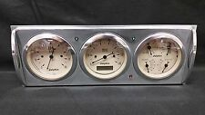 1941 1942 1943 1944 1945 1946  CHEVY TRUCK 3 GAUGE CLUSTER TAN