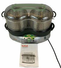 Tefal Vitacuisine 3 in 1 Electric Food Steamer Cooker Fish Meat Vegetables Rice