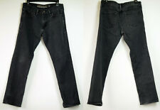 Old Navy Slim Fit Micro Blue Faded Black Stretch Jeans Tagged 31X30 Actual 33X29