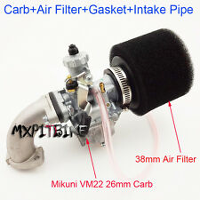 Mikuni Carburetor 26mm Carb Set For 110cc 125cc 140cc SSR IMR Piranha Pit Bike