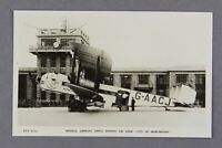 IMPERIAL AIRWAYS ARMSTRONG WHITWORTH ARGOSY RPPC AIRLINE ISSUE POSTCARD