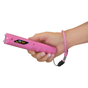 PS Products Zap Stick - 800,000 Volt Stun Device with Flashlight - PINK
