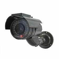 CCTV SECURITY CAMERA FAKE SURVEILLANCE NEW FLASHING LED DUMMY SOLAR POWERED