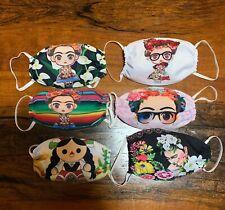 Frida Khalo cubreboca face mask one size polyester