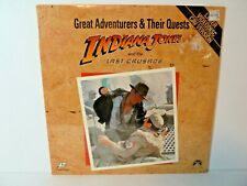 Great Adventurers & Their Quests: Indiana Jones & the Last Crusade - New Sealed