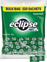 Wrigley Eclipse Spearmint Sugar Free 220 Mints St Patrick Day Bulk Lollies Candy