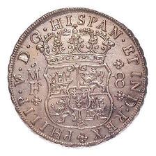 1739 8 REALES INTERRATA tesoro dall' Hollandia con COA # 155-530