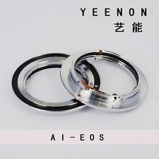 Nikon AI AIS F Lens to Canon EOS Adapter