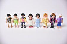 "Playmobil Lot Of 8 Figures People 3"" - Magic Mermaid, Princess, Asian, Gladiator"