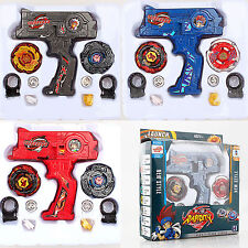 4D Beyblade Metal Master Fusion Top Rapidity Fight Rare Launcher Grip Lot