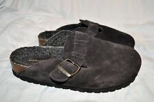 SONOMA Women's Size 7 Karlie Brown Chocolate Leather Suede Wedge Slip On -New!