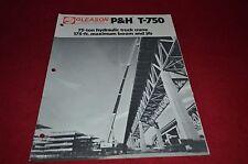 P&H T-750 Truck Crane Dealers Brochure DCPA2