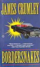 Bordersnakes by James Crumley - Hard Boiled Private Eye Novel - Unread Copy