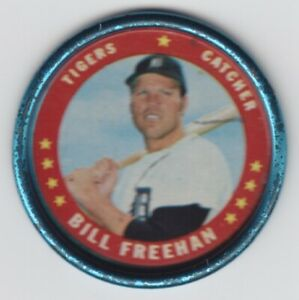 1971 Topps Coins - Bill Freehan - #38 - Detroit Tigers