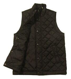 Barbour Men's Black Barlow Quilted Gilet Full Zip Vest