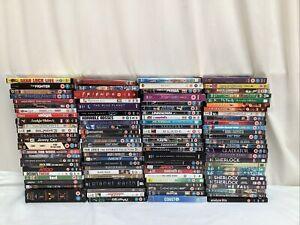 100 x Assorted Genre DVDs Joblot Bundle Carboot - Lot 76
