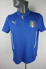 Italy 2014 2016 Puma Home Football shirt trikot Mens S Small F848 Italia
