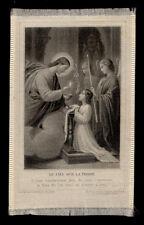 services de gravure de santino soie-saint carte-canivet LETAILLE pl.784 LE CIEL