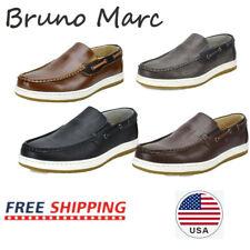 Bruno Marc Men's Moccasins Boat Shoes Lightweight Slip on Loafers