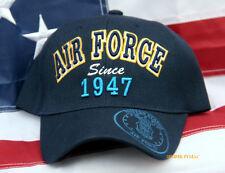 US AIR FORCE SINCE 1947 CAP HAT USAF VETERAN PILOT CREW WING GIFT AFB WOWAFH