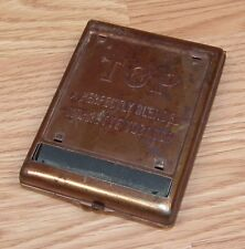 Vintage Genuine Top Copper Toned Cigarette / Tobacco Roller Only **READ**