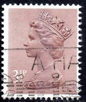 1983 X860  3½p Purple Brown (Centre Band) Fine Used