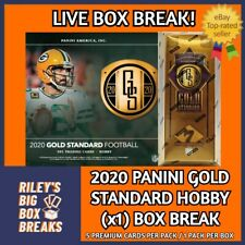 🔥🏈 2020 PANINI GOLD STANDARD FOOTBALL BOX BREAK #64 - PICK YOUR OWN TEAM! 🔥🏈