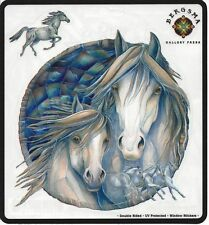 The Dream Creates The Journey Horse & Colt Sticker Car Decal Jody Bergsma