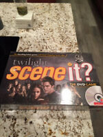 Twilight Saga Scene It DVD Trivia Board Game New In Box Sealed
