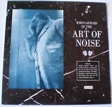WHO'S AFRAID OF THE ART OF NOISE LP - 1984 -  ZTT / ISLAND AUSTRALIA