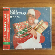 LAST COPIES FACTORY SEALED JAPAN LAST CHRISTMAS CD! WHAM! GEORGE MICHAEL