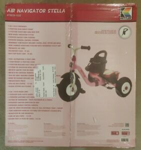 Kettler Happy Air Navigator Fly Convertible Tricycle with Push Handle Pink Color