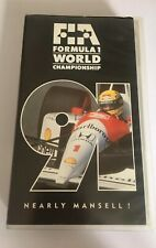GENUINE AUTHENTIC F1 1991 REVIEW VHS FORMULA ONE OFFICIAL REVIEW VIDEO