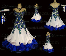BALLROOM/STANDARD DANCE TAILORED  DRESS WITH HIGH QUALITY  STONE ST223A
