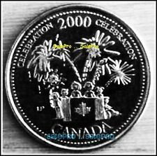 CANADA 2000 CANADIAN QUARTER QUEEN ELIZABETH ** CELEBRATION ** RARE 25 CENT COIN