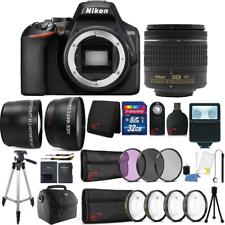 Nikon D3500 24.2MP Câmera Dslr + Lente 18-55mm + Kit De Acessórios 55mm