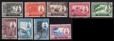 PENANG 1960 1c-$1 'Crest' definitives Short set Used @E1346