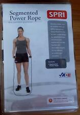 Spri Segmented Power Rope - BRAND NEW PACKAGE - GREAT CARDIO WORKOUT TOOL