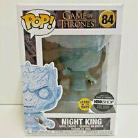 Funko POP! Game of Thrones NIGHT KING Crystal Glow in the Dark HBO Exclusive #84