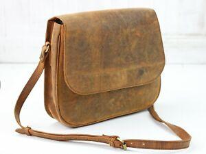 Scaramanga Ella Leather Saddle Bag