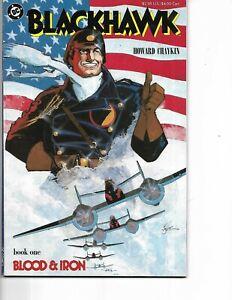 Blackhawk Mini Series #1-3 Howard Chaykin story and art (1988 DC)  Near Mint
