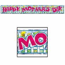 Happy Mothers Day Fringe 5ft Banner
