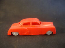 Old Vintage Collectible Plastic Car With White Wheels Toy Car Made In USA